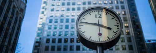 horloge - analyse à la demande