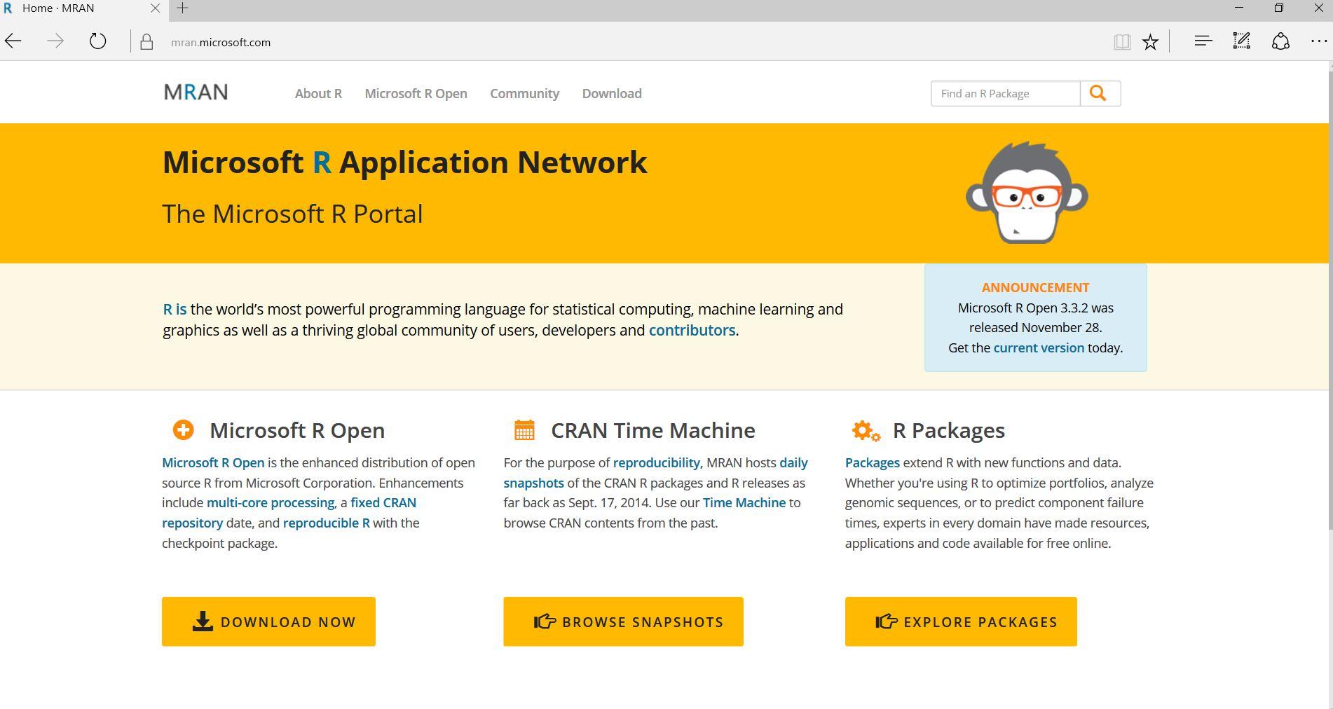 MRAN website