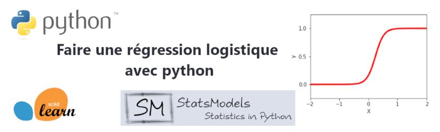 Régression logistique python